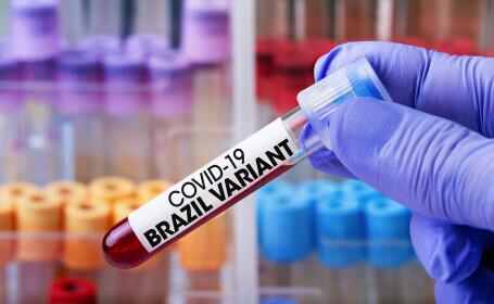 Simptomele variantei braziliene a coronavirusului, arătate de specialiștii britanici. Câte mutații au fost confirmate