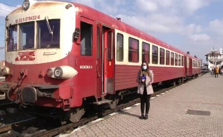 Primul tren-tramvai din România