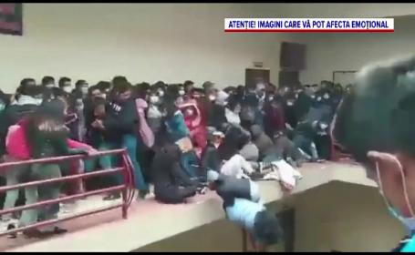 Cel puțin 7 studenți au murit, după ce au căzut de la etajul unei universități, în Bolivia. Balustrada a cedat