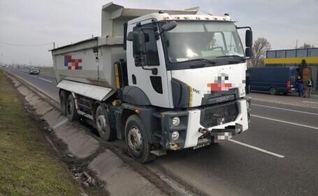 Bărbat din Focșani, ucis de roata unui camion desprinsă în mers. Unde se afla victima