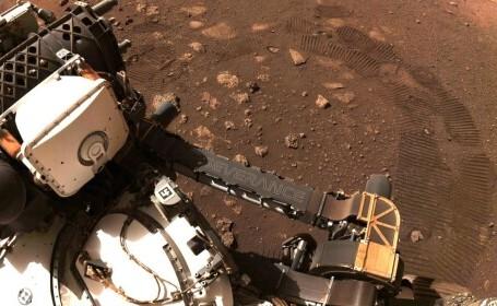 Perseverance a început oficial explorarea. Noi imagini spectaculoase de pe Marte