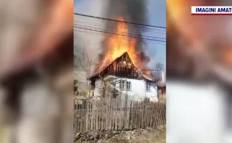 casă arsă