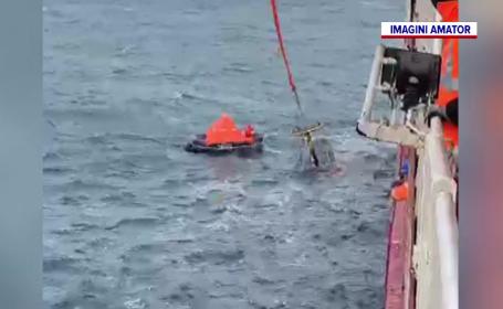 Marinarii ucraineni recuperați din apele Mării Negre au ajuns în siguranță în portul Constanța