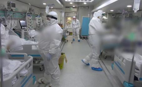 Valul 3 al pandemiei copleșește din nou spitalele din România. Secţiile ATI se ocupă rapid