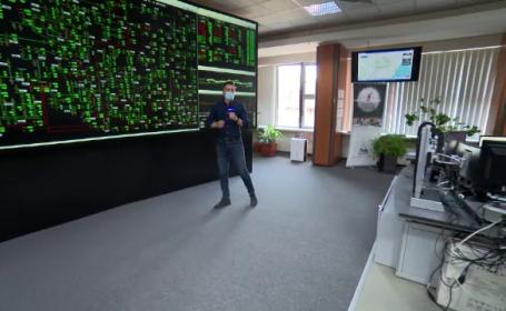 Imagini în premieră din inima sistemului energetic al României. Un blackout total poate fi mai distructiv ca un seism major