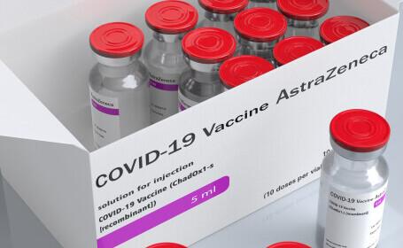 CNCAV: O nouă tranşă de vaccin AstraZeneca va sosi vineri în România