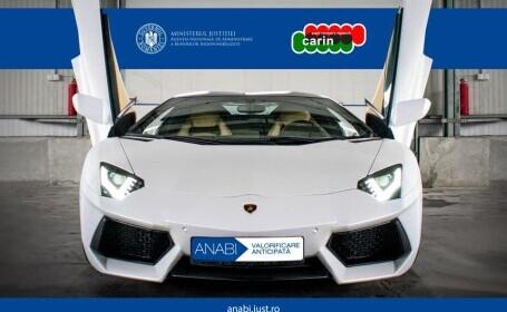 Lamborghini Aventador, scos la licitație de stat cu 300.000 de euro. Cui a aparținut