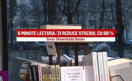 Românii citesc mai puțin de 5 minute pe zi, iar 35% dintre cetățeni nu au citit vreodată o carte