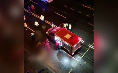 Tragedie în Cluj-Napoca. Un bărbat de 48 de ani a fost spulberat de două mașini