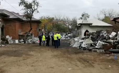 O nouă descindere a Gărzii de Mediu în Sintești. Localnici prinși înainte să dea foc deșeurilor