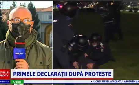 Autoritățile spun că nu și-au dorit confruntări cu manifestanții. O parte erau cunoscuți pentru violența lor