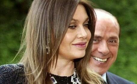 Veronica Lario si Silvio Berlusconi