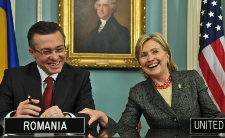 Cristian Diaconescu si Hillary Clinton