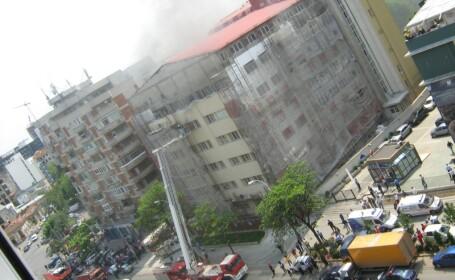 Incendiu Spitalul