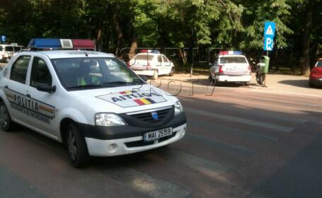 Fara CASCO! Politistii vor achita reparatiile masinilor lovite in misiuni