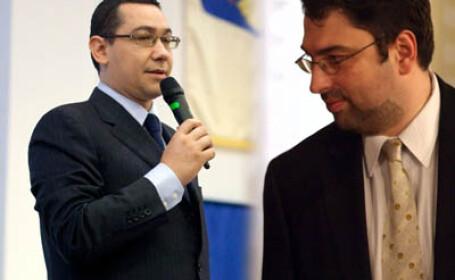 Victor Ponta si Sever Voinescu