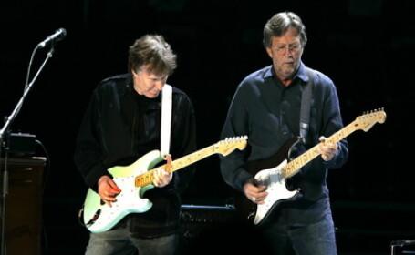 Stevie Winwood & Eric Clapton