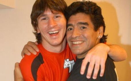 Messi si Maradona