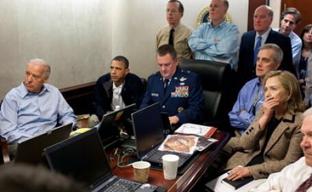 FOTOGRAFII INCREDIBILE. Obama a vazut in direct uciderea lui bin Laden