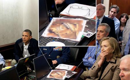 Intrebarea de pe buzele tuturor: Cine e in poza de pe masa lui Obama?