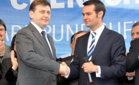 Crin Antonescu si Catalin Chereches