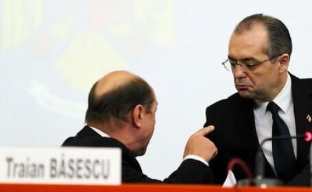 Traian Basescu si Emil Boc