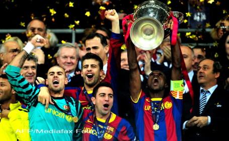 El Pais: \'Wembley s-a indragostit de Barca\'. Finala Champions League: Barcelona - Man.United 3:1