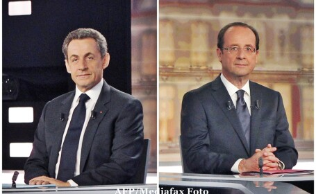 Nicolas Sarkozy, Francois Hollande