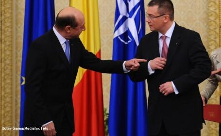 Mihai Razvan Ungureanu - Traian Basescu