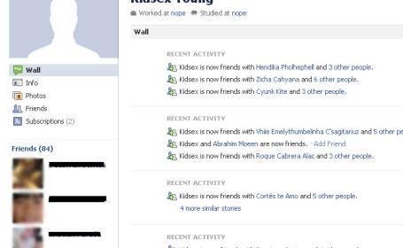 Facebook pedofili