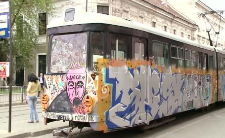 graffiti tramvai