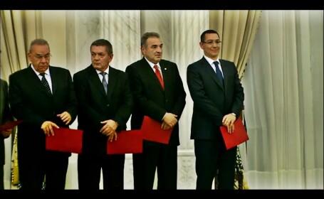 Guvernul Ponta - juramant