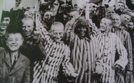 Dachau, copii in lagarul de concentrare