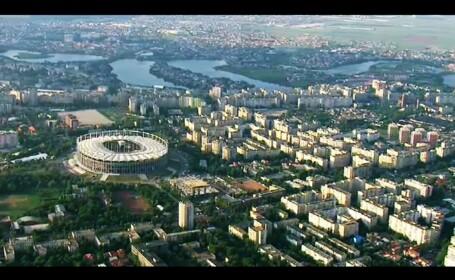 Finala Europa League din ELICOPTER. Imagini inedite din Capitala