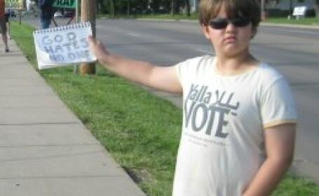 Mesajul unui copil de 11 ani inspira sute de mii de oameni: \