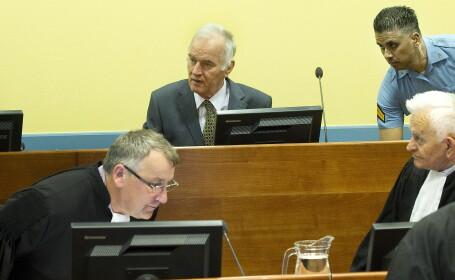 A inceput procesul lui Ratko Mladici. \