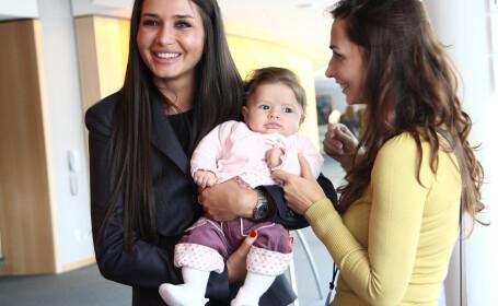 Bebelusii romanilor din Statele Unite l-au emotionat pe Basescu. \