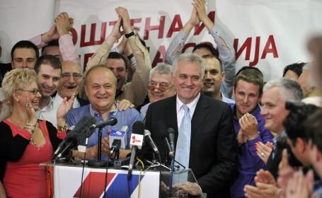 Rezultat surpriza la alegerile din Serbia: Nationalistul Tomislav Nikolici este noul presedinte