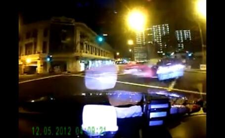 accident ferrari taxi