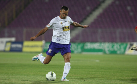 Mircea Axente, meci Poli FC Bihor