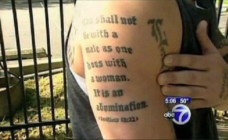 tatuaj biblie