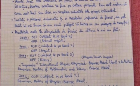 Comentarii pro si contra despre teza la fizica a elevului Alexandru Botu