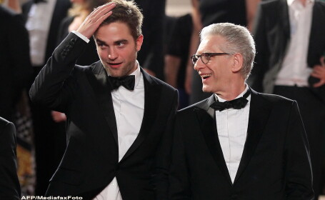 Robert Pattinson si David Cronenberg