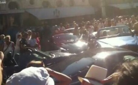 Video: Accident de 1 milion de dolari la Monaco. Blonda la volan. Cum a facut praf o parcare: