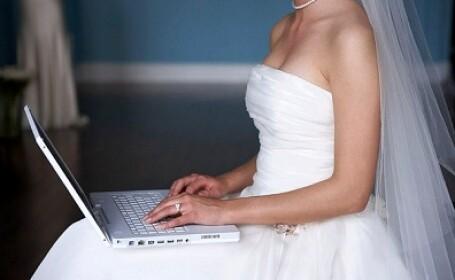 mireasa la laptop