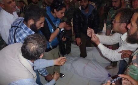 Un nou masacru al armatei din Siria, soldat cu 62 de morti. CNS: Rusia incurajeaza crimele salbatice