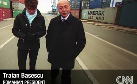 Traian Basescu, CNN