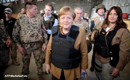 Angela Merkel in Afganistan