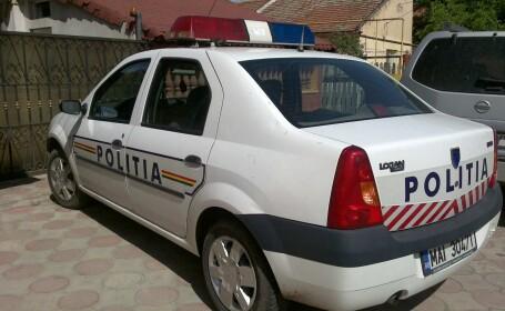 casa,masina politie