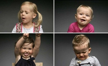 Experiment: Cum reactioneaza copiii cand gusta pentru prima oara un fel de mancare. Video